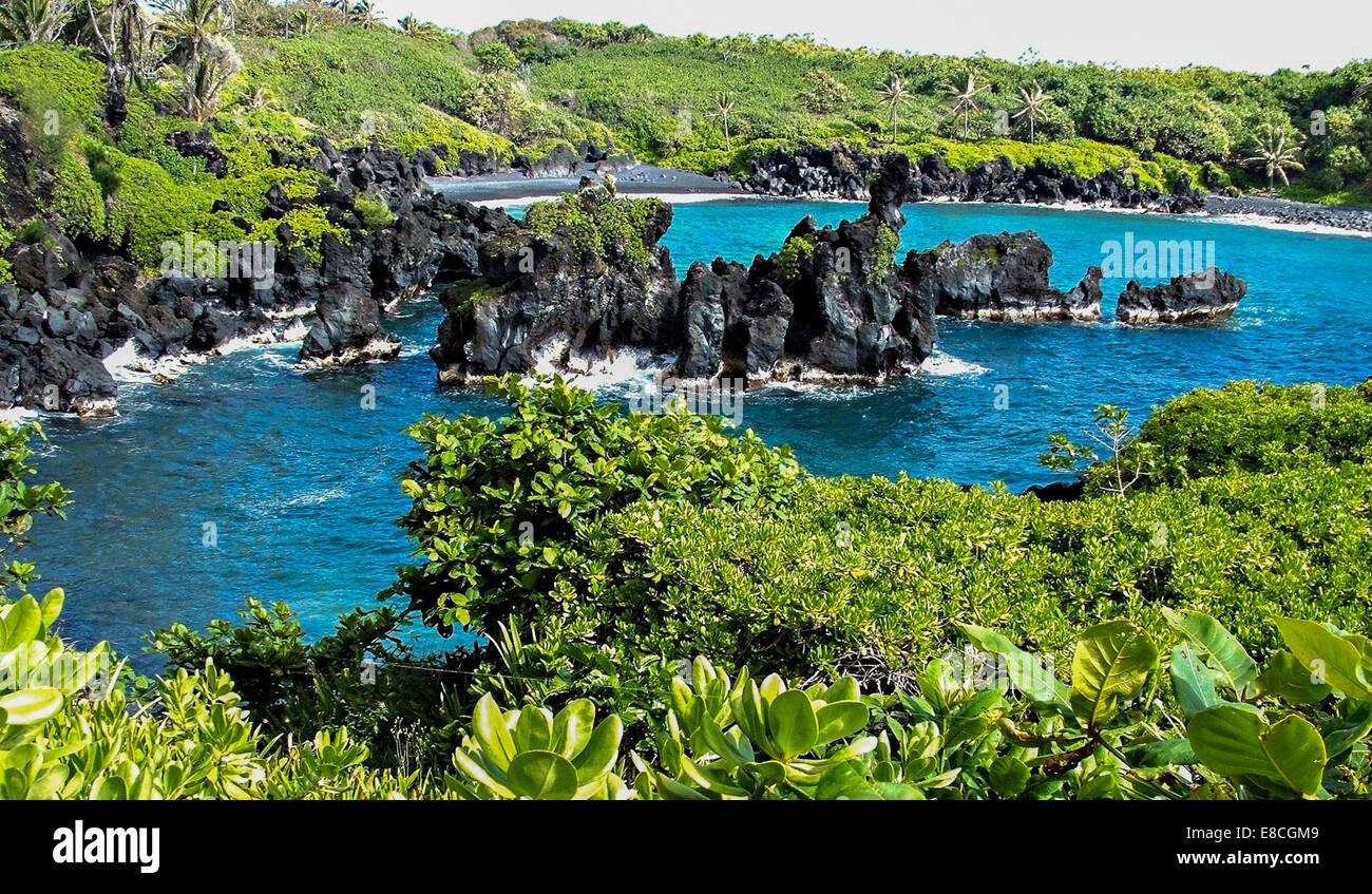 Hawaiian Getaway - Stock Image
