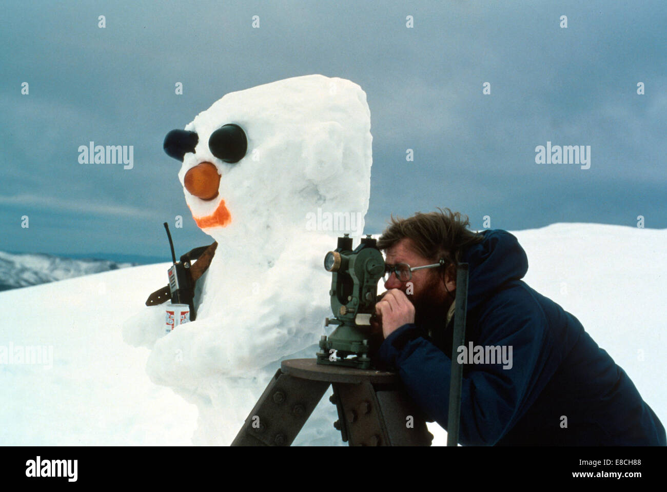 Olaf the Geologist - Stock Image