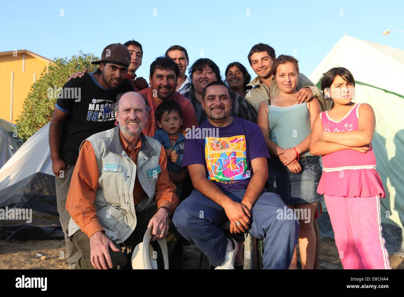 Tsunami Survivors - Stock Image