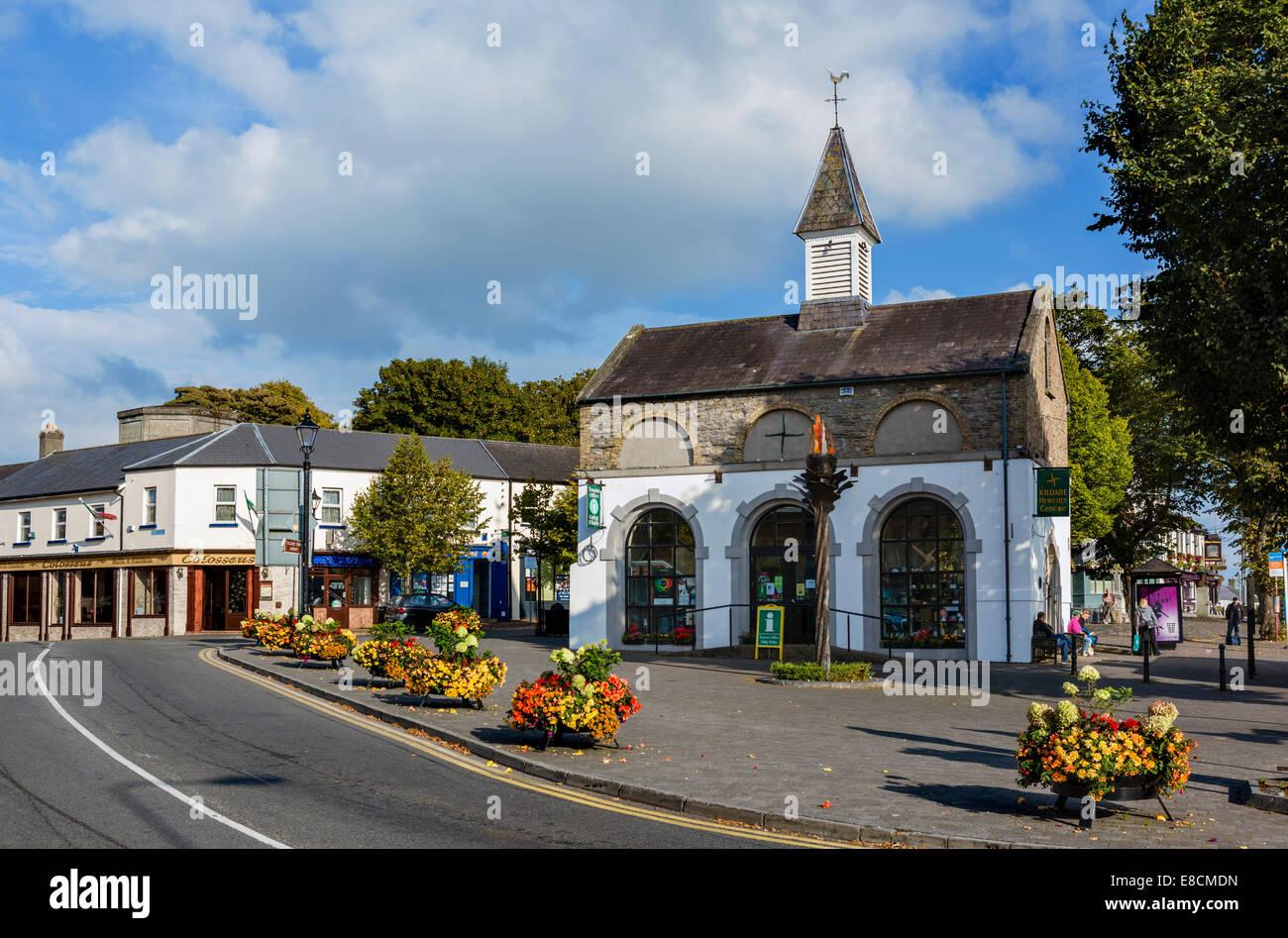 Heritage Centre in Market Square, Kildare, County Kildare, Republic of Ireland - Stock Image