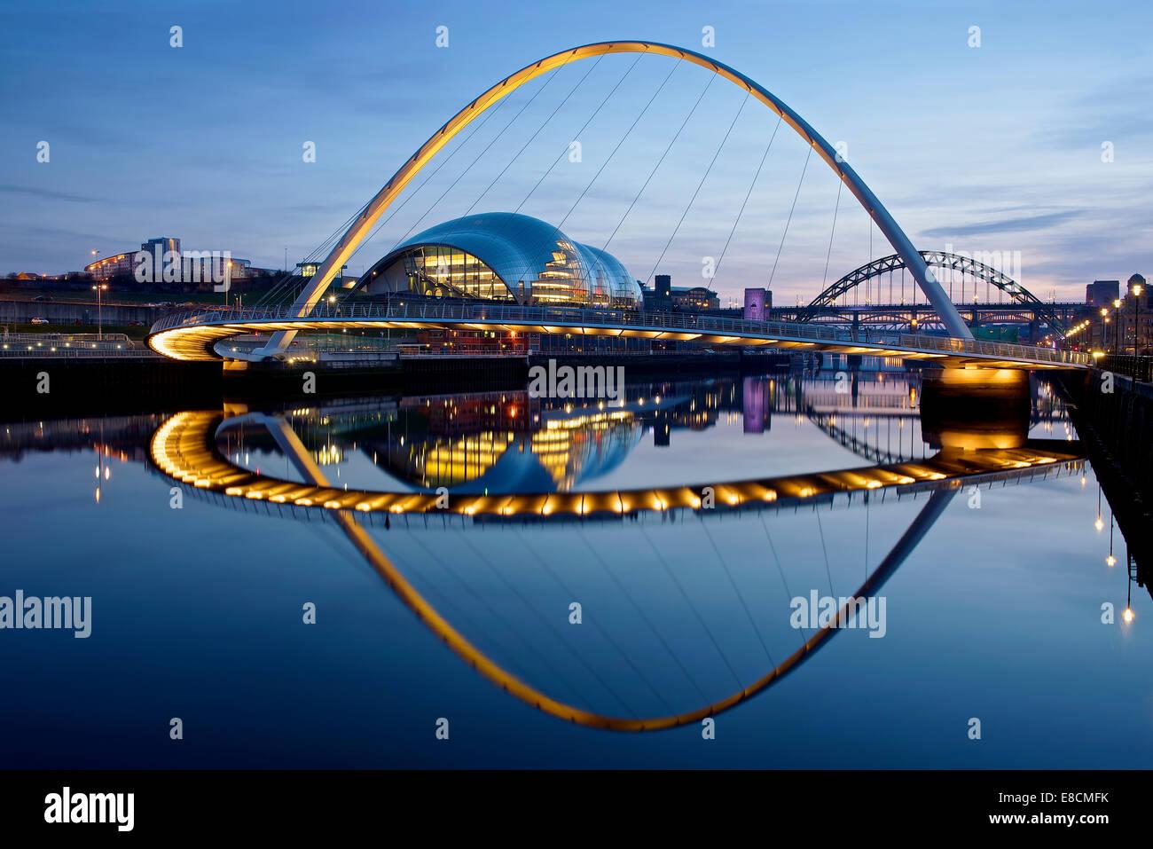 Millennium Bridge - Stock Image