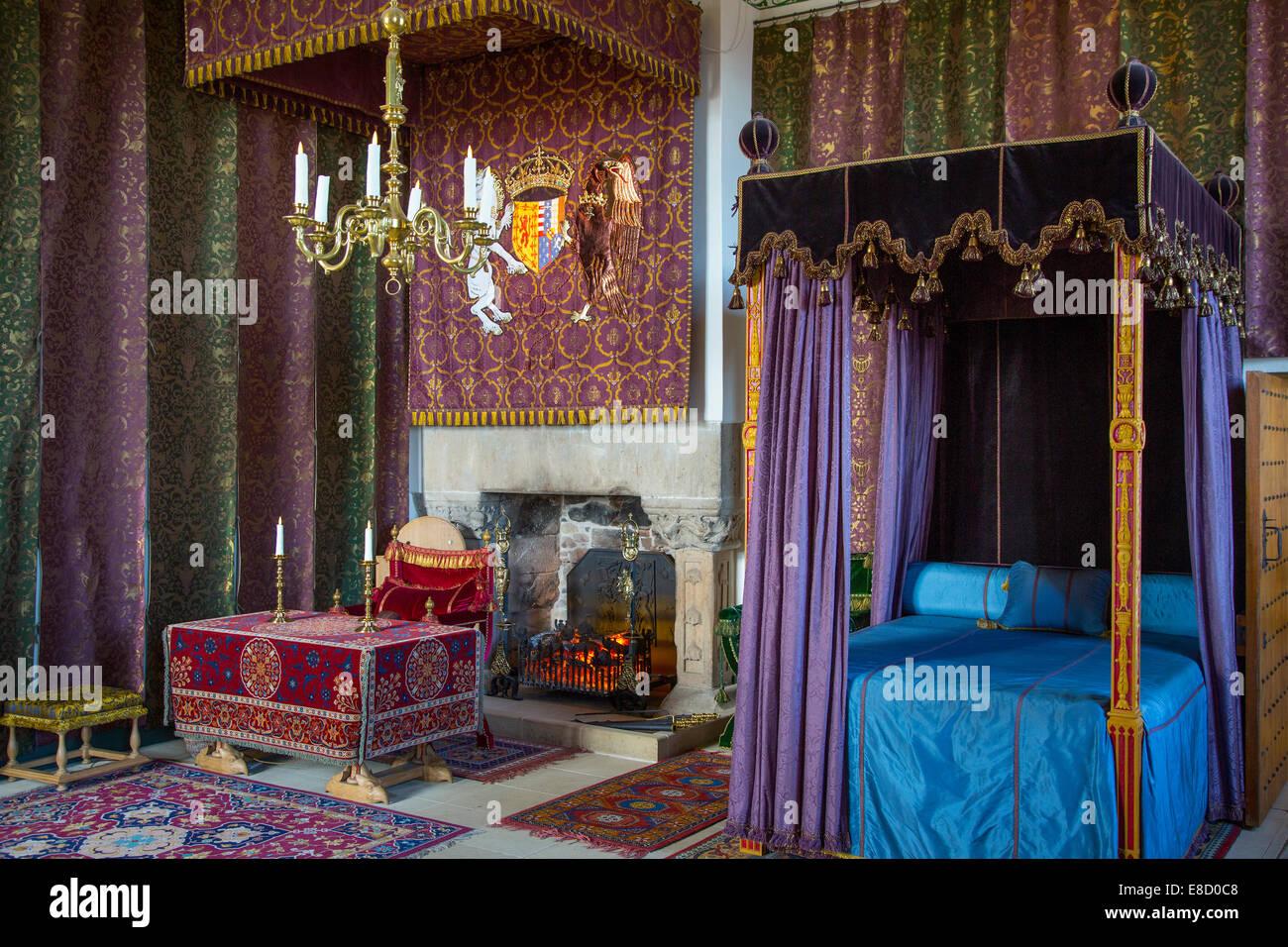 Queenu0027s Bedroom At Stirling Castle, Stirling, Scotland   Stock Image