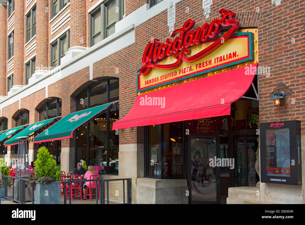 Giordanos In Chicago Famous Stuffed Pizza Restaurant Deep Dish