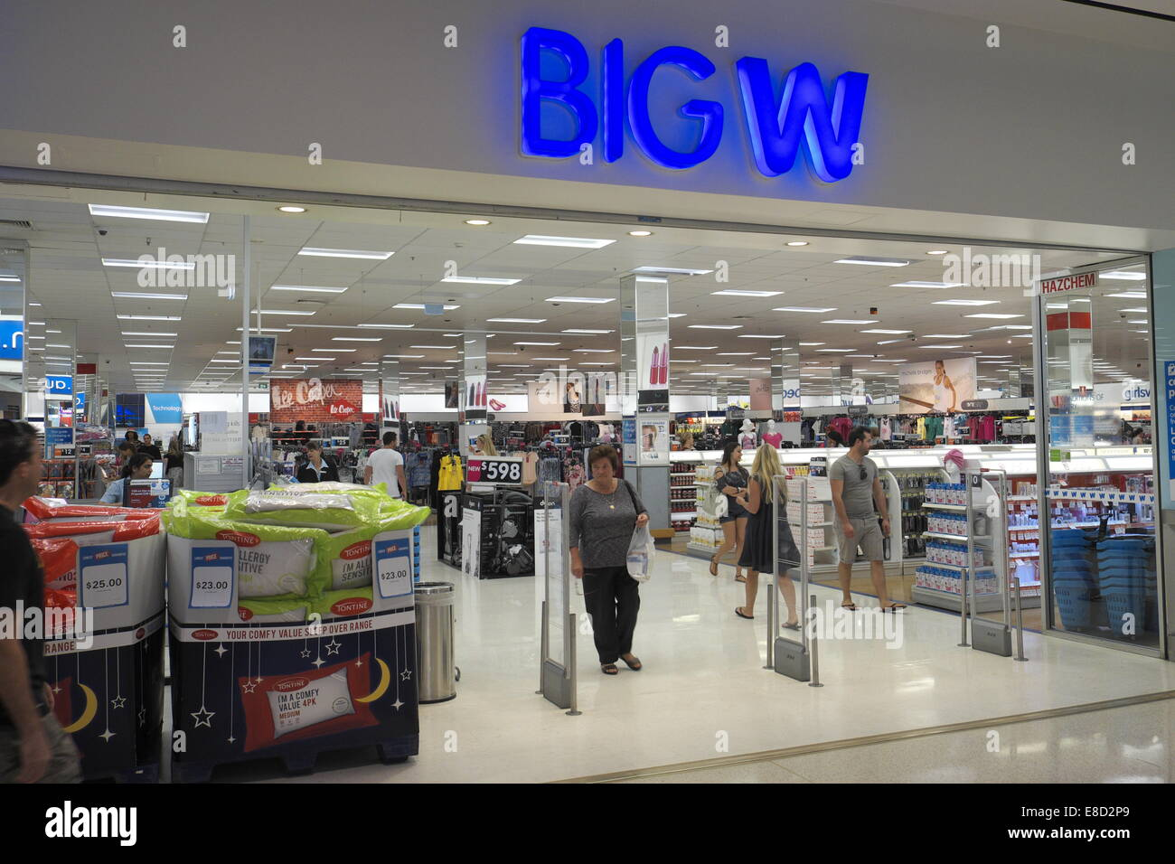 d81207e36481c Big W department store , owned by australian grocery retailer Woolworths,  in a shopping mall in Sydney