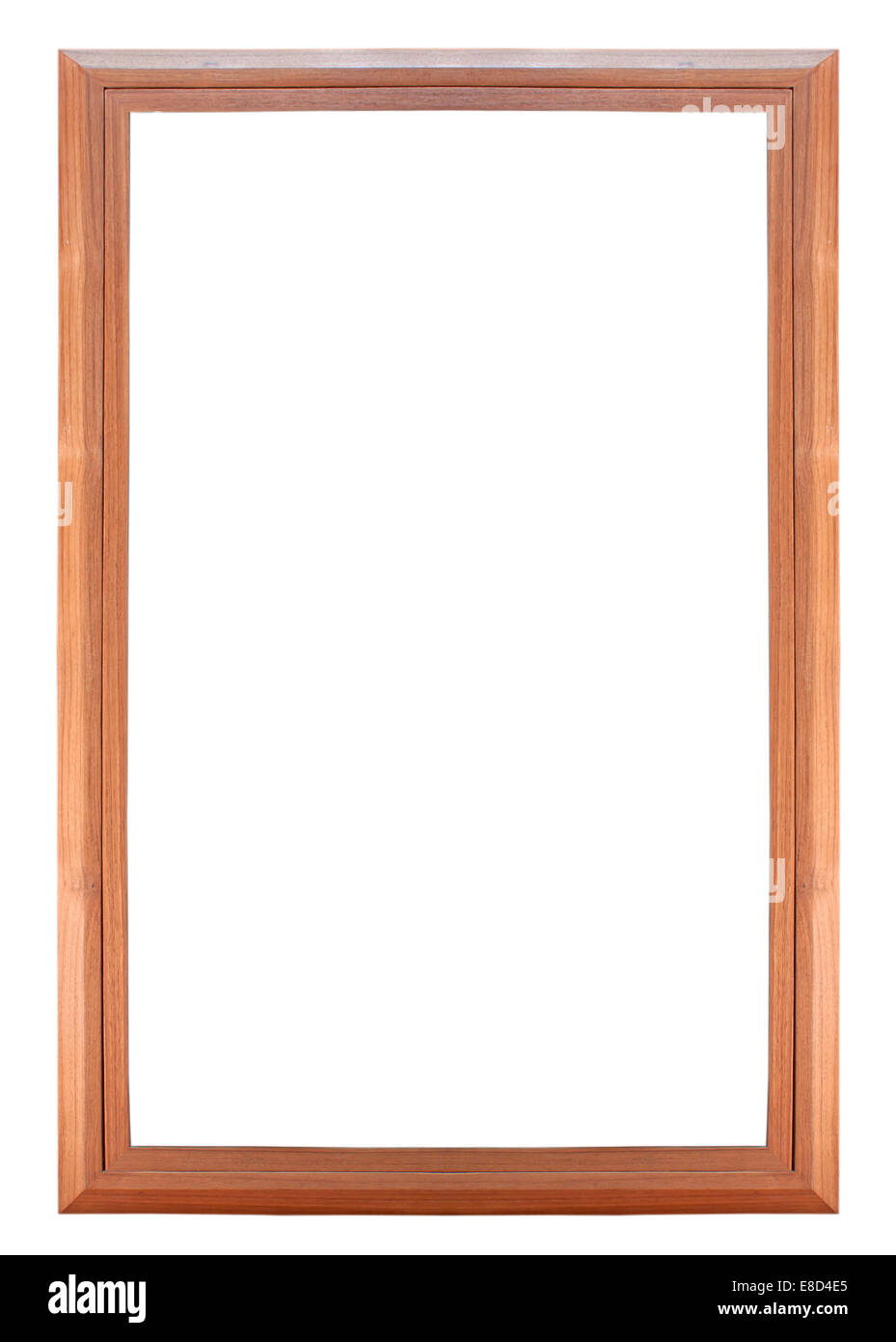 TEAK//GOLD WOODEN PICTURE PHOTO FRAME WITH GLASS
