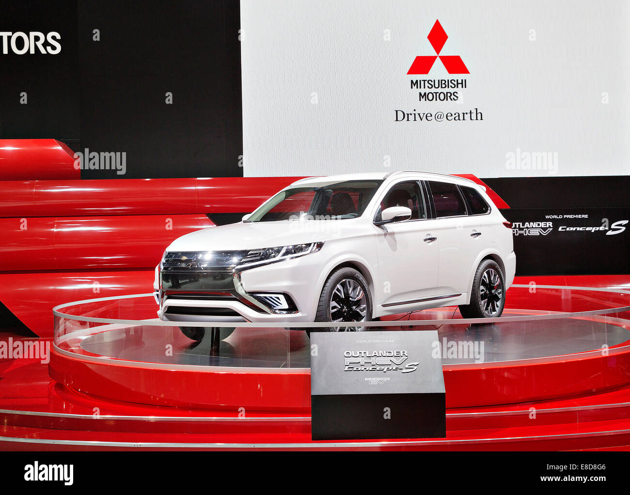 Concept Car Mitsubishi Outlander Phev Concept S Was Presented During
