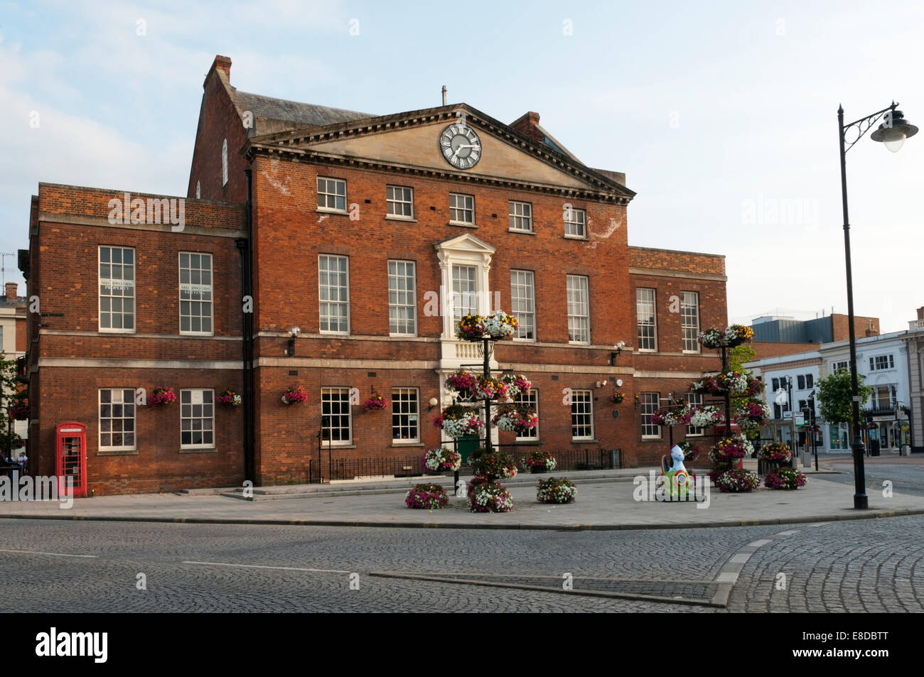 The Market House public house in Taunton town centre, Somerset. - Stock Image