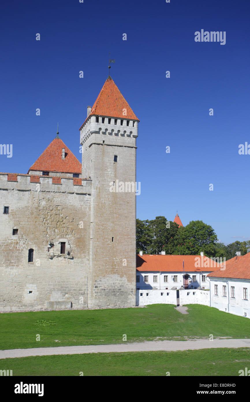 Kuressaare Castle at the Saaremaa Island, Estonia, Baltic States Stock Photo
