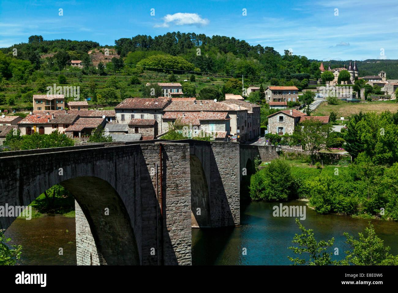 Chandolas, Ardeche,Rhone Alpes,France - Stock Image