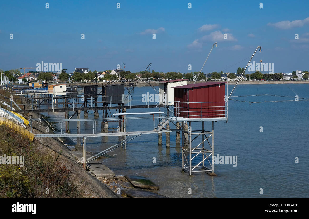 st nazaire, loire atlantique, france Stock Photo