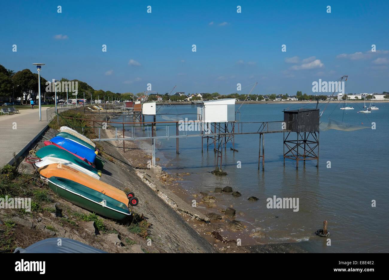 st nazaire, loire atlantique, france Stock Photo