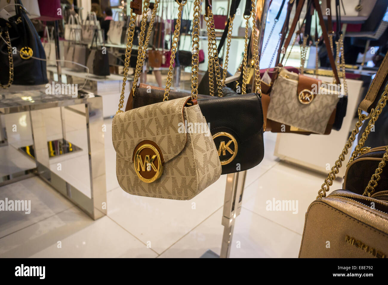 109f266220b5 The Michael Kors boutique within the Macy s Herald Square department store in  New York - Stock