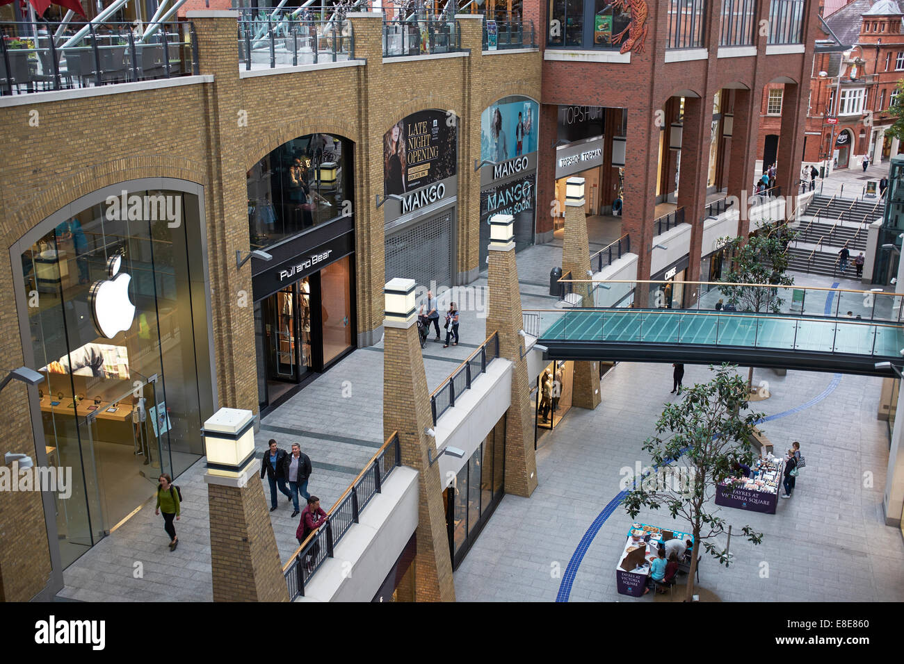 faf8cd8cda025 Retail units in Victoria Square shopping centre Belfast city centre ...