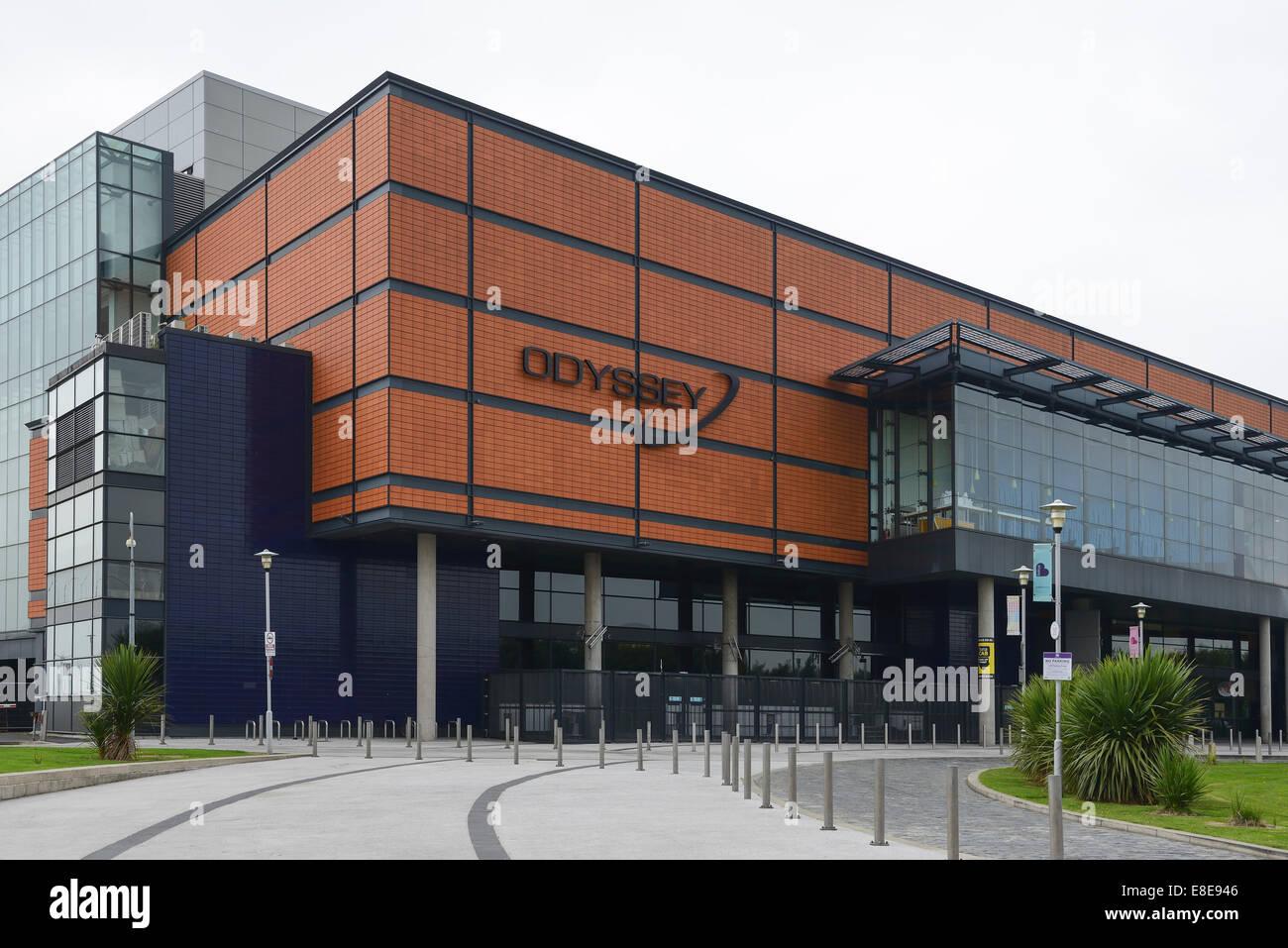 Odyssey Arena entertainment venue Belfast Northern Ireland UK - Stock Image