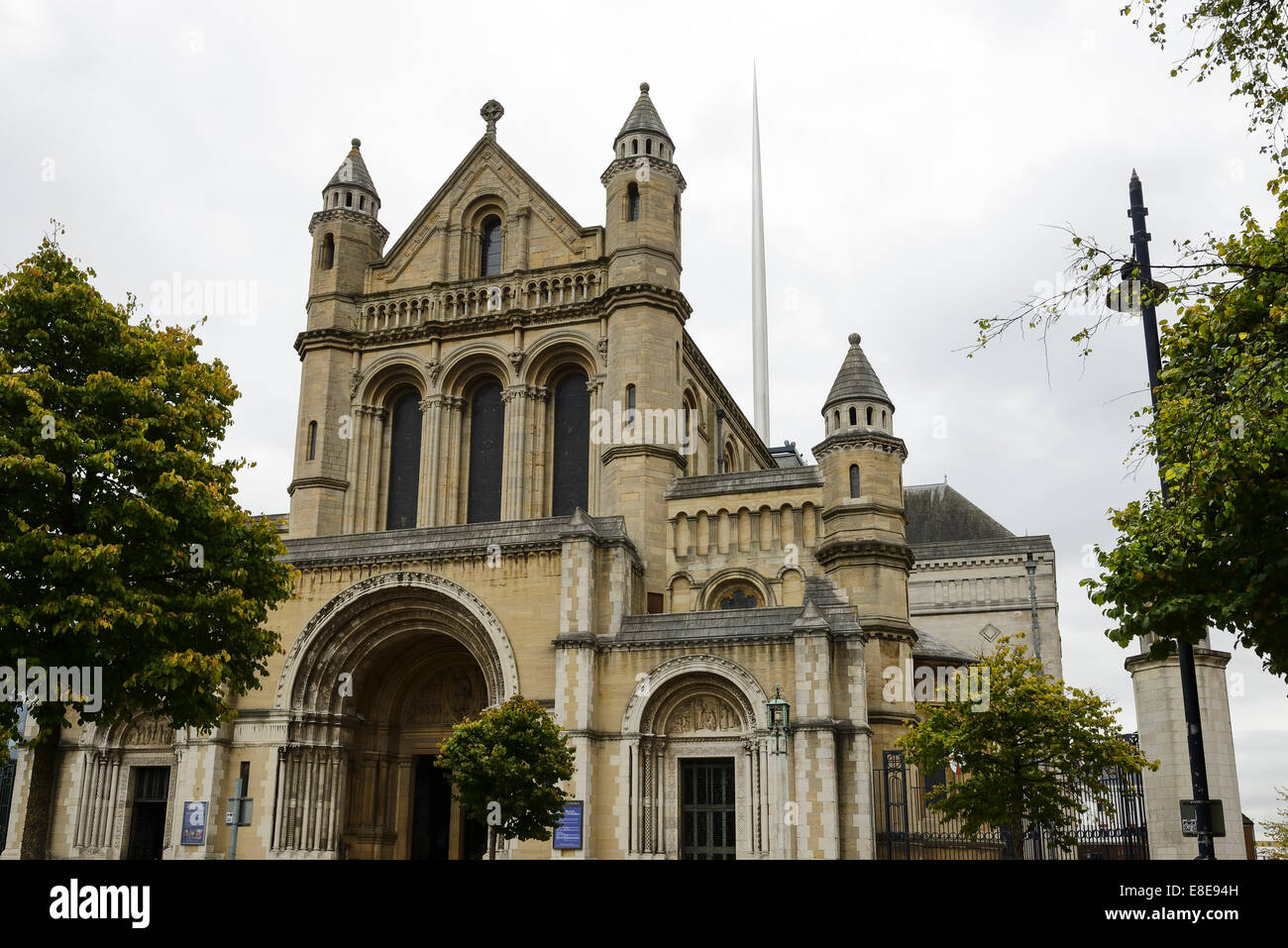 St Annes Cathedral in Belfast City Centre - Stock Image