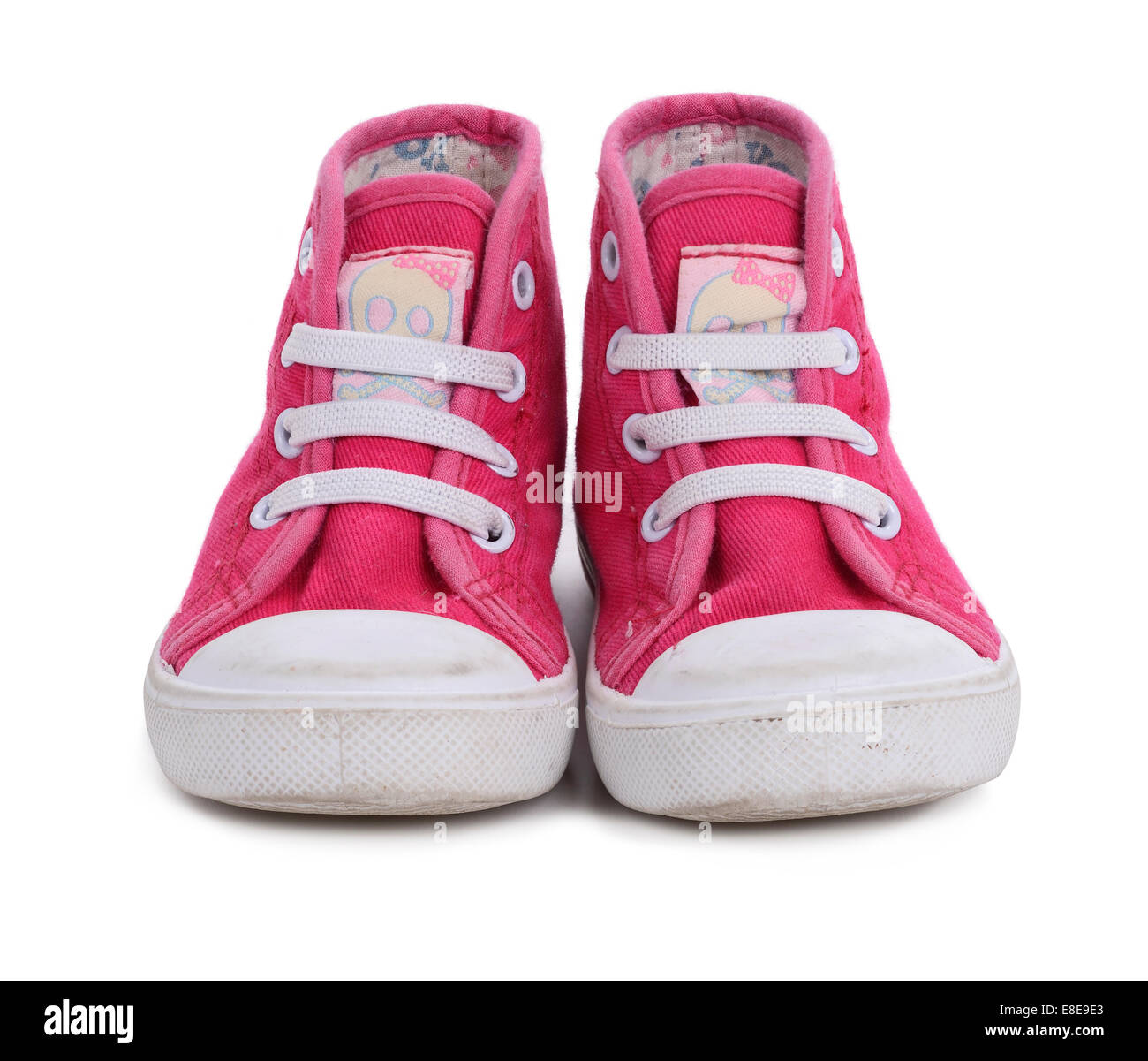 small pink girls shoes Stock Photo