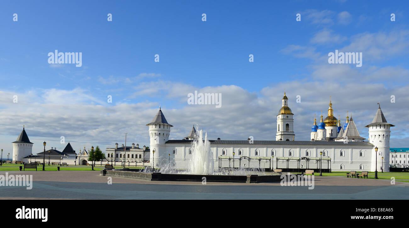 Panoramic view ofTobolsk Kremlin. Siberia. Russia. - Stock Image
