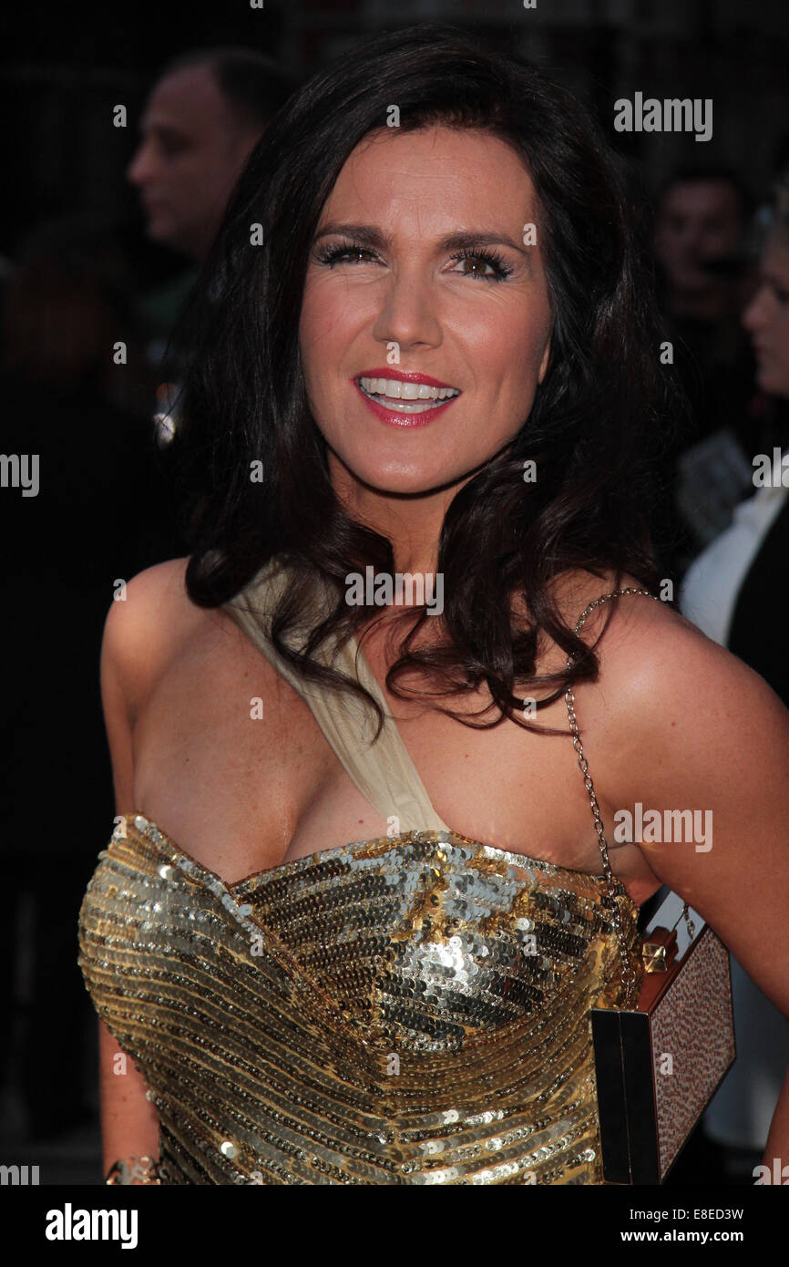 London, UK, 6th October 2014: Susanna Reid attends the Pride of Britain awards at The Grosvenor House Hotel in London Stock Photo