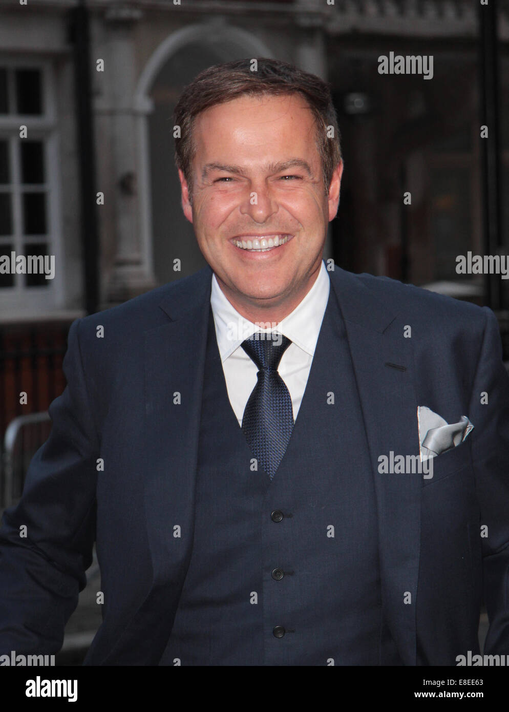London, UK, 6th October 2014: Peter Jones CBE attends the Pride of Britain awards at The Grosvenor House Hotel in - Stock Image