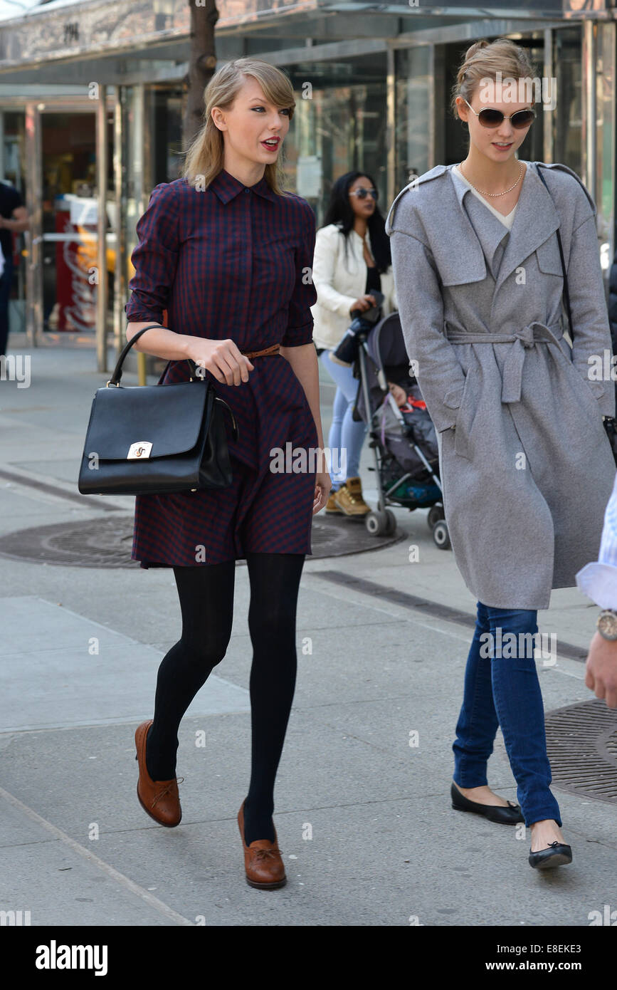 Taylor Swift And Karlie Kloss Out In New York Featuring