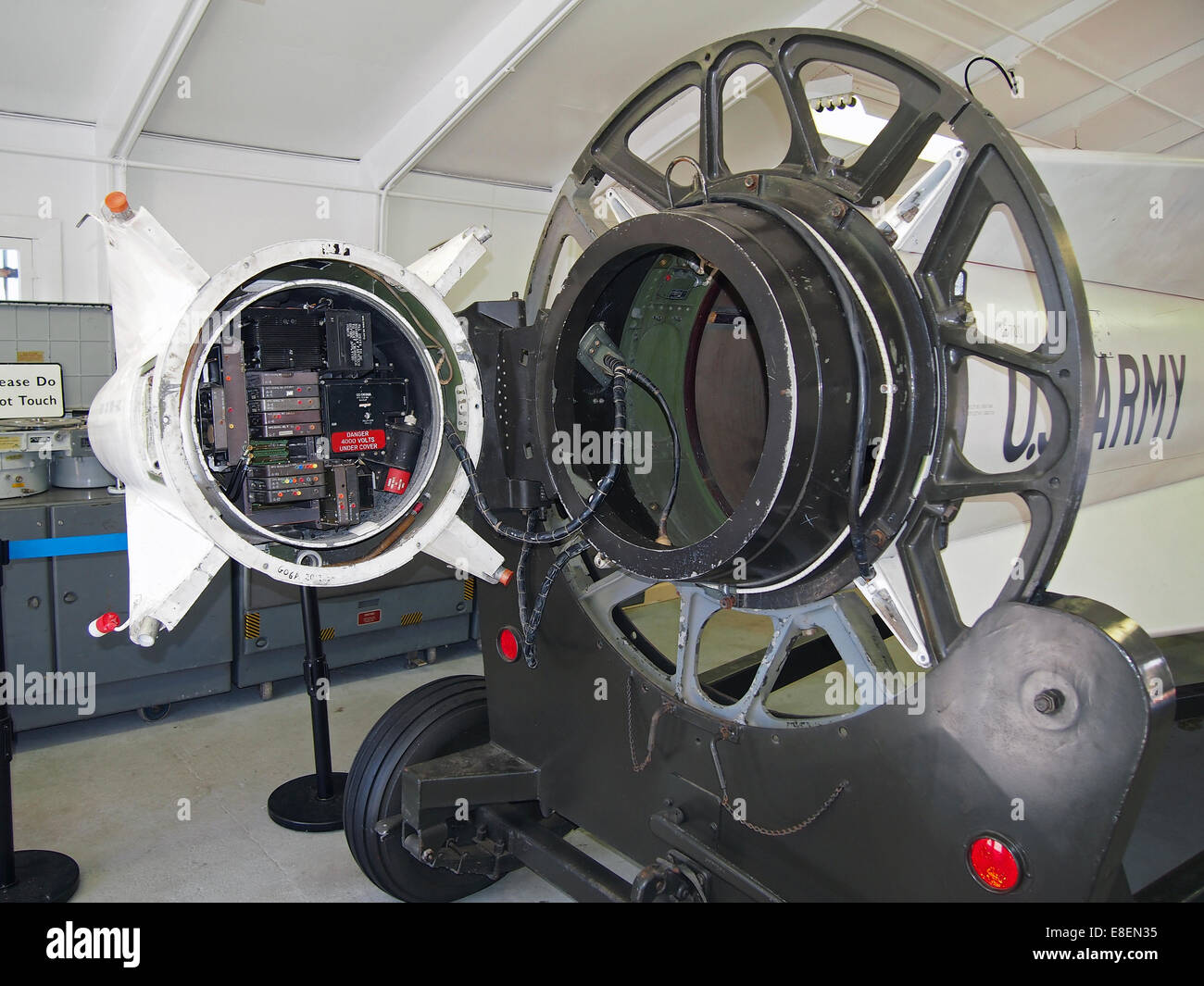 Nike Missile interior, California, USA - Stock Image