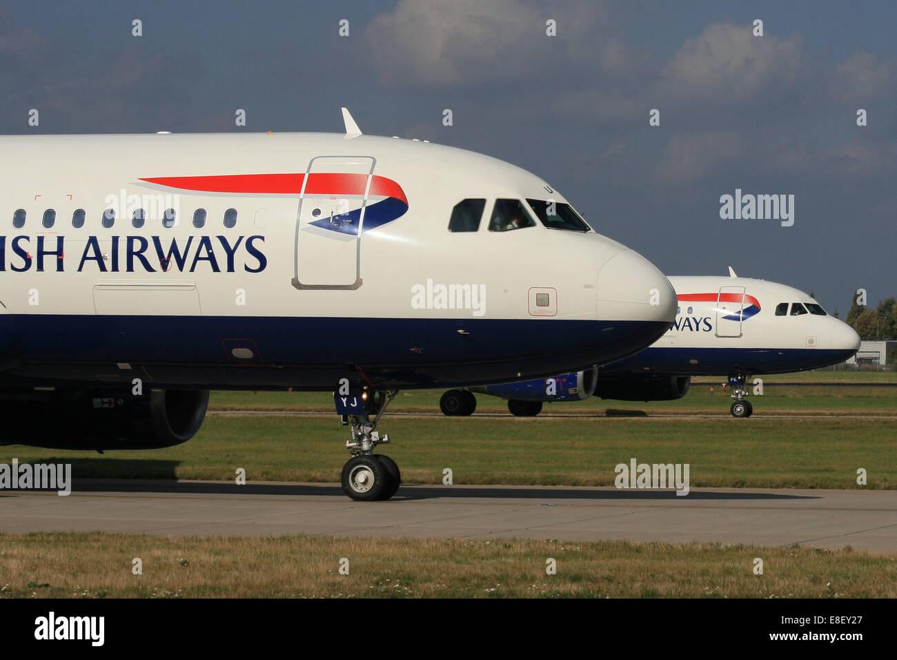 BA AIRBUS - Stock Image