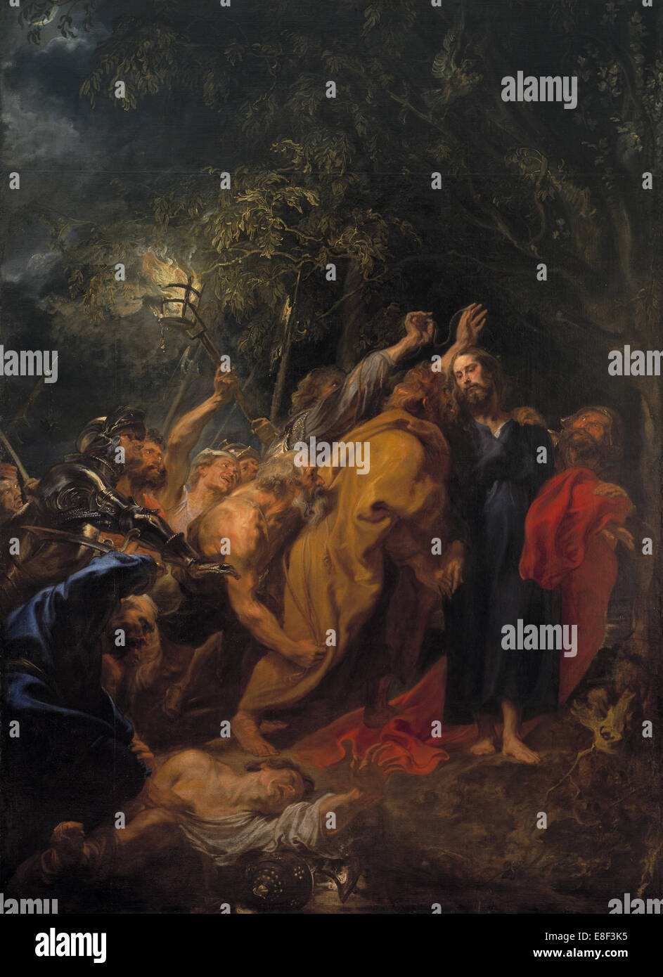 The Capture of Christ. Artist: Dyck, Sir Anthony van (1599-1641) - Stock Image