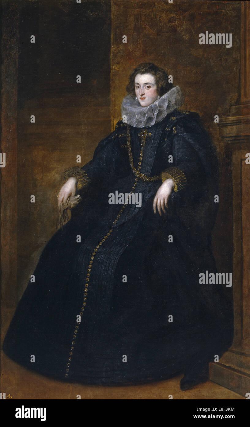 Policena Spínola, marquesa de Leganés. Artist: Dyck, Sir Anthony van (1599-1641) - Stock Image