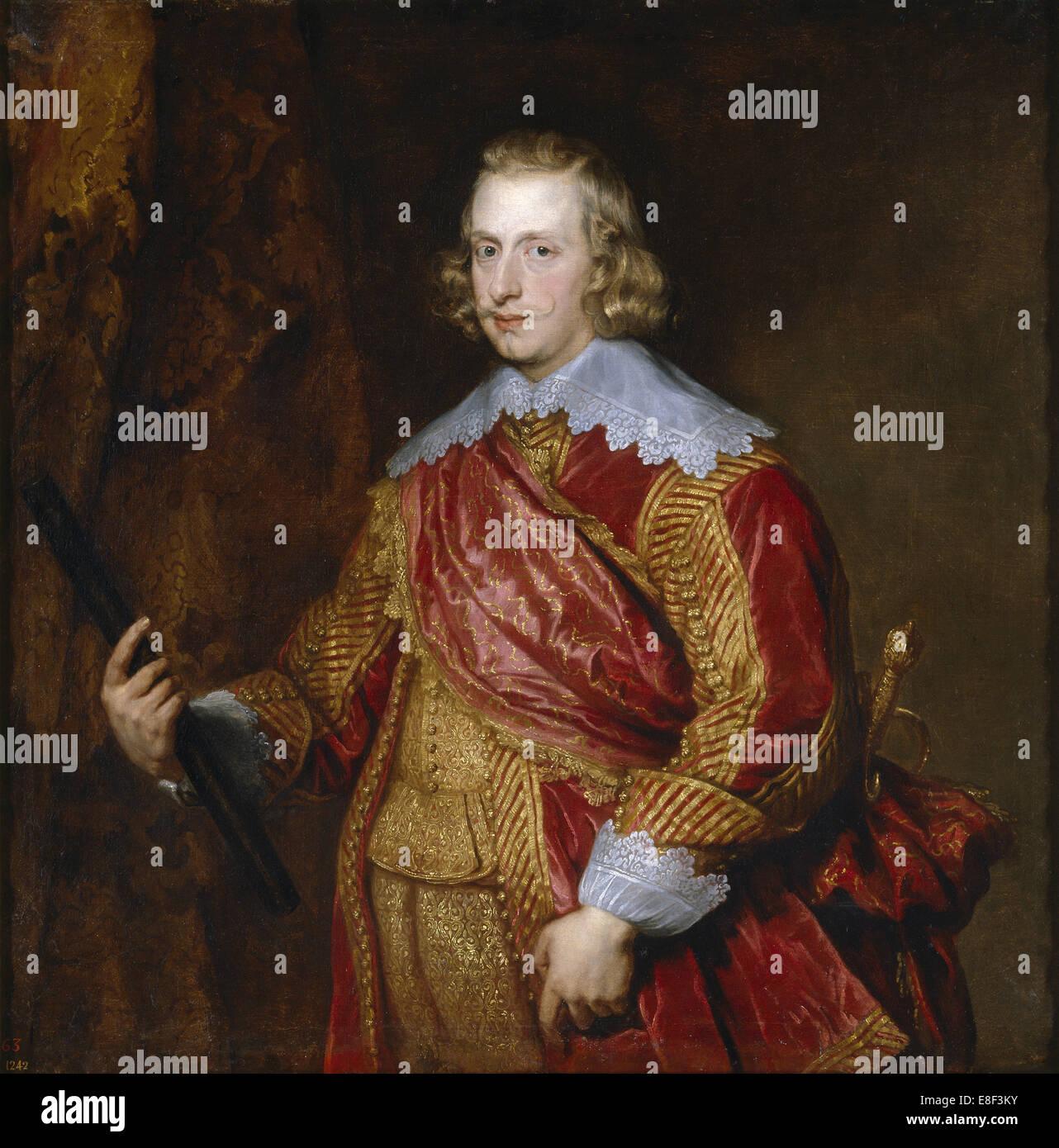 Portrait of Cardinal-Infante Ferdinand of Austria. Artist: Dyck, Sir Anthony van (1599-1641) - Stock Image