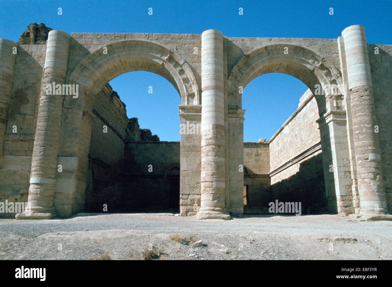 Temple of the Sun, Hatra (Al-Hadr), Iraq, 1977. - Stock Image