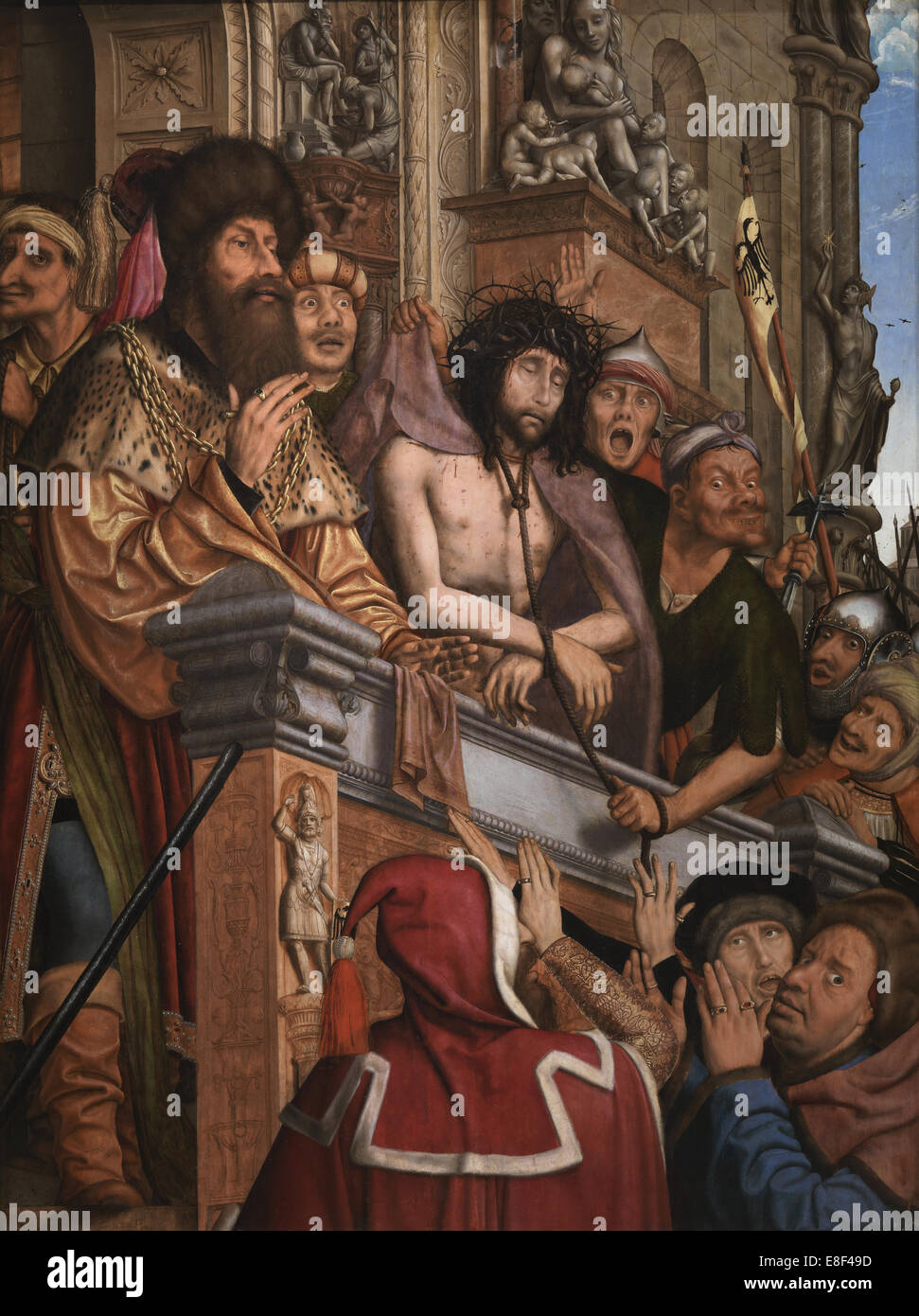 Christ Presented to the People. Artist: Massys, Quentin (1466?1530) - Stock Image