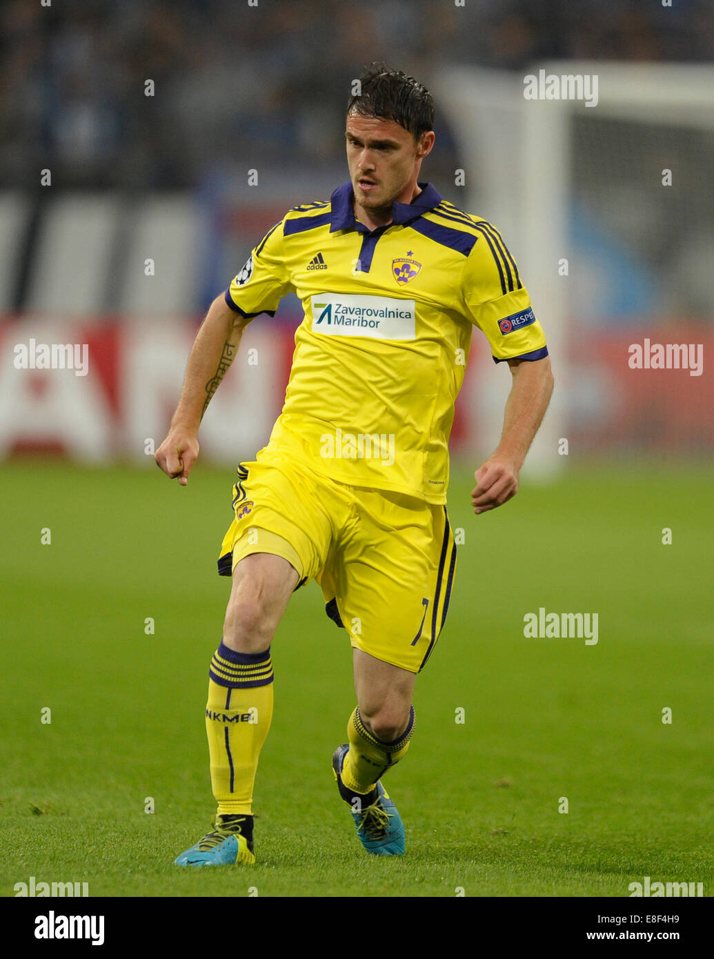 Gelsenkirchen, Germany 30.9.2014, Champions League 14/15 Group stage, Schalke 04 - NK Maribor -  Ales Mejac - Stock Image
