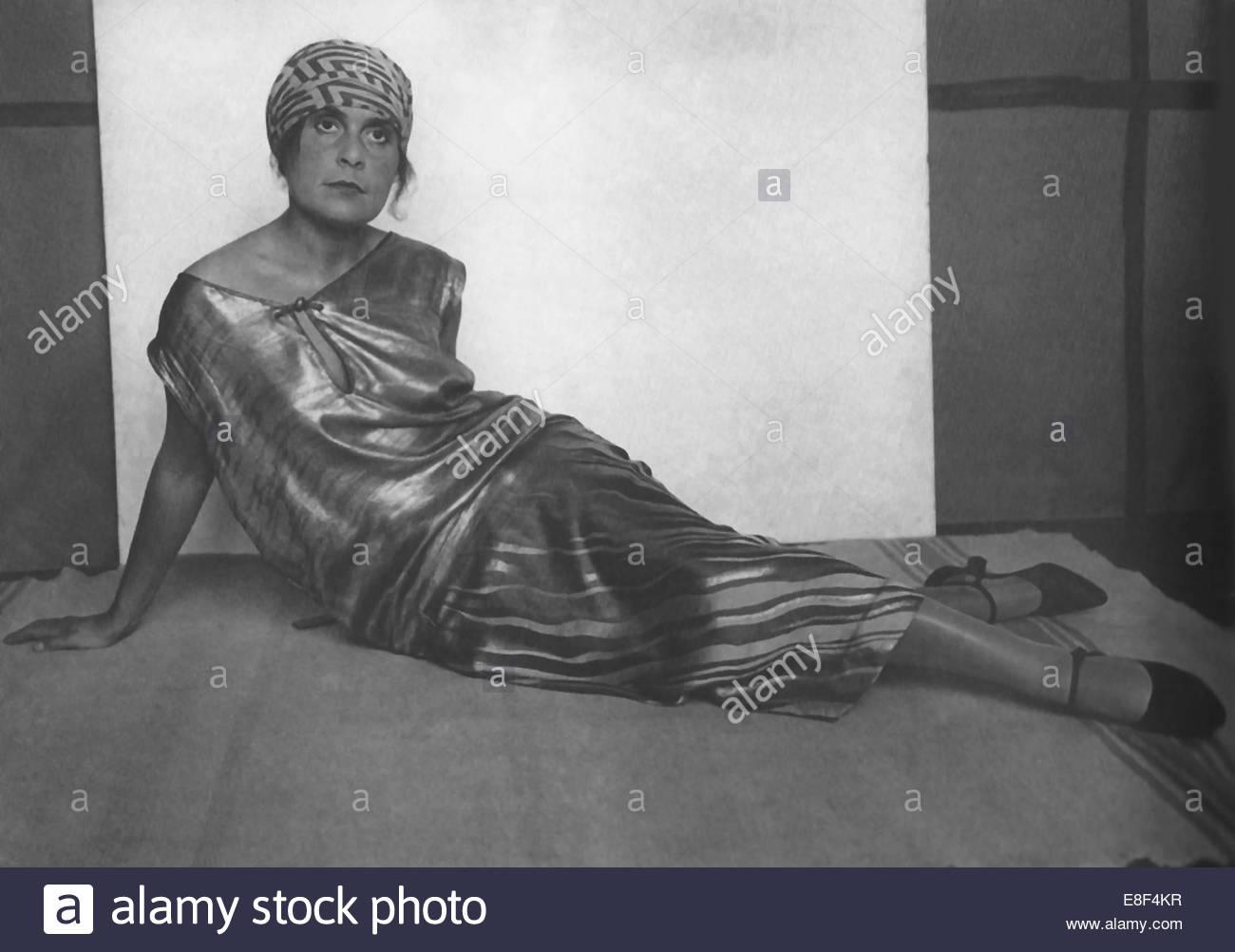 Lilya Brik Artist: Rodchenko, Alexander (1891-1956) - Stock Image