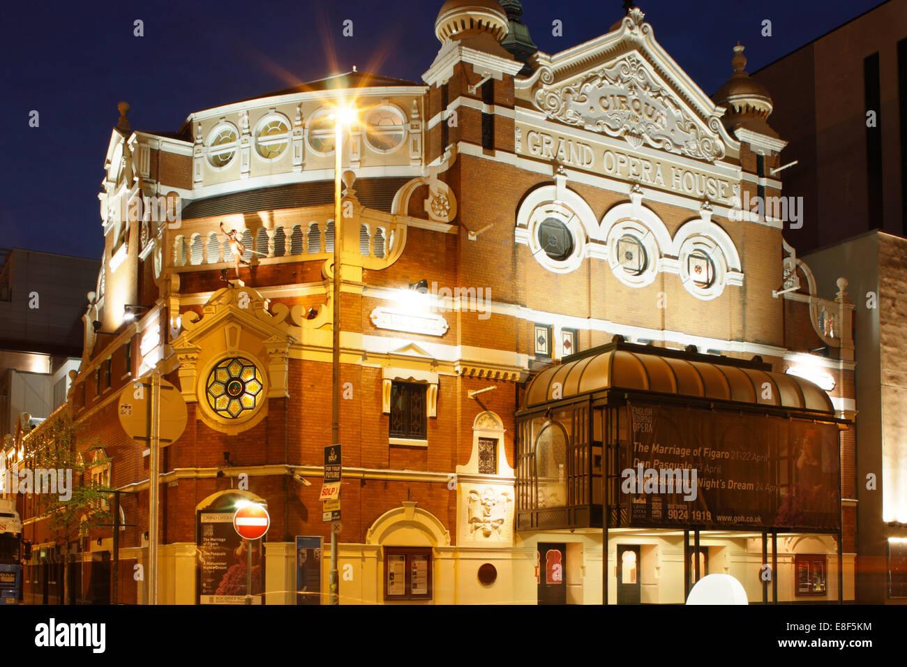 Opera House Belfast Stock Photos Amp Opera House Belfast