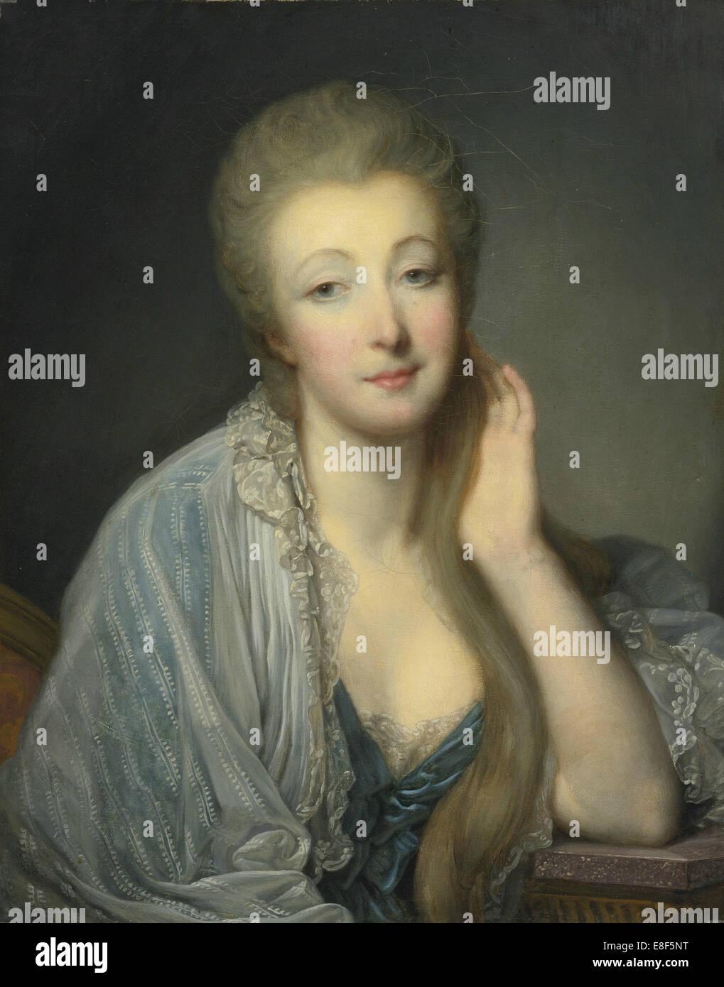 Jeanne Bécu, comtesse Du Barry (1743-1793). Artist: Greuze, Jean-Baptiste (1725-1805) - Stock Image