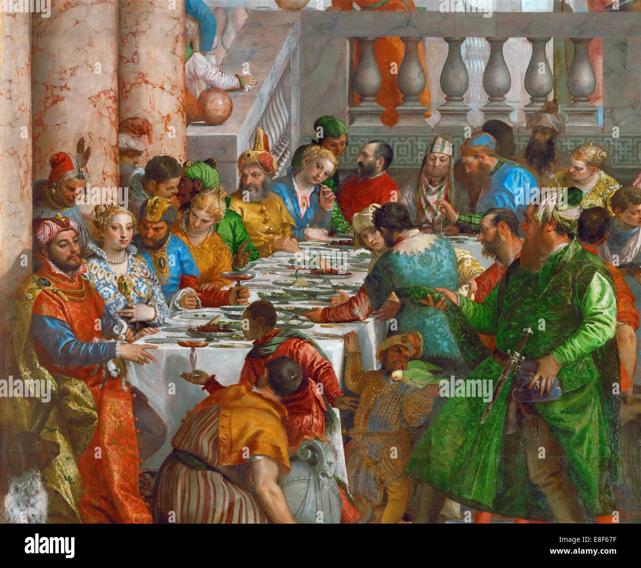 The Wedding Banquet: The Wedding Feast At Cana Stock Photos & The Wedding Feast