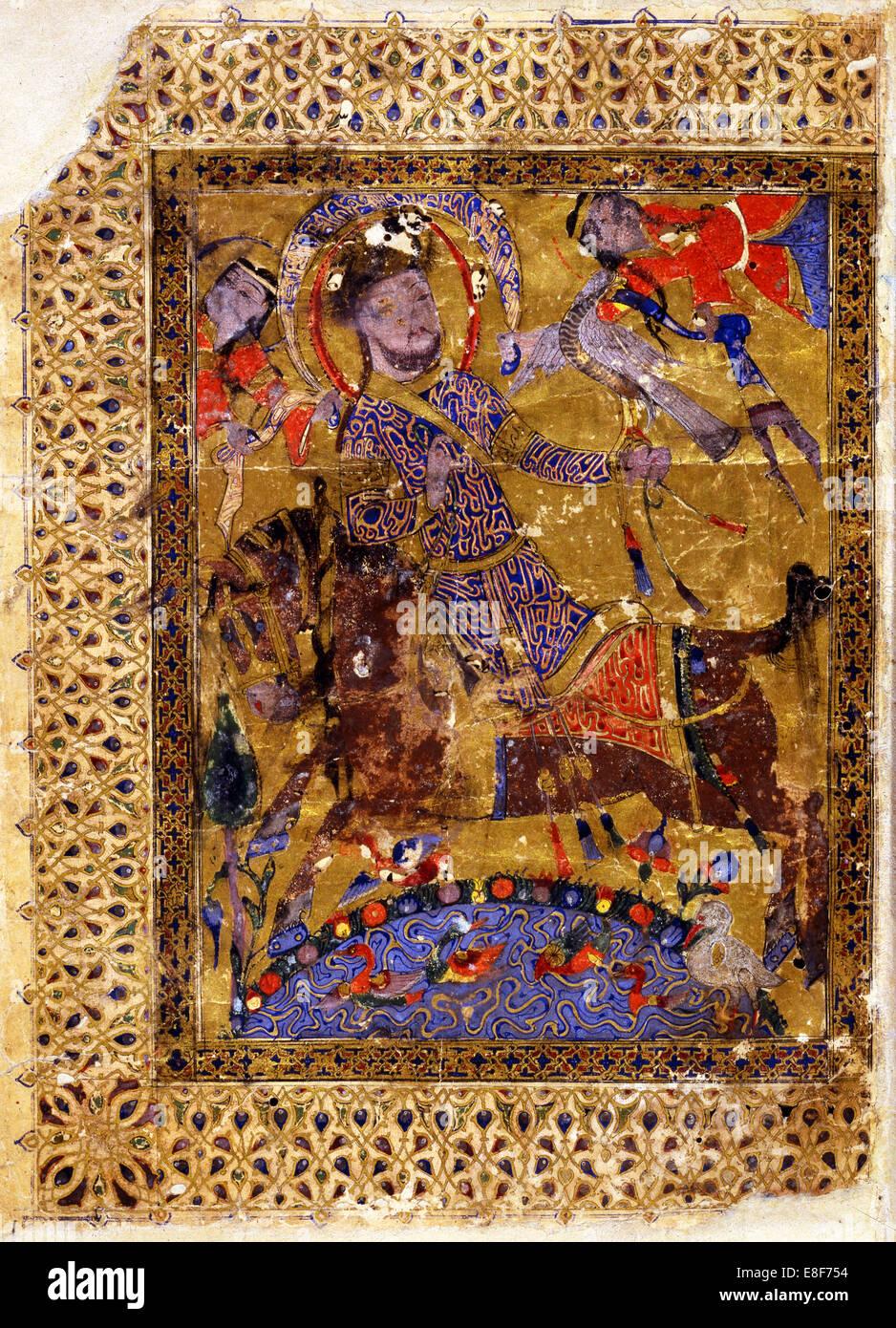 Illustration from Kitab al-aghani (Book of Songs). Artist: Muhammad ibn Abi Talib al-Badri (active c. 1220) - Stock Image