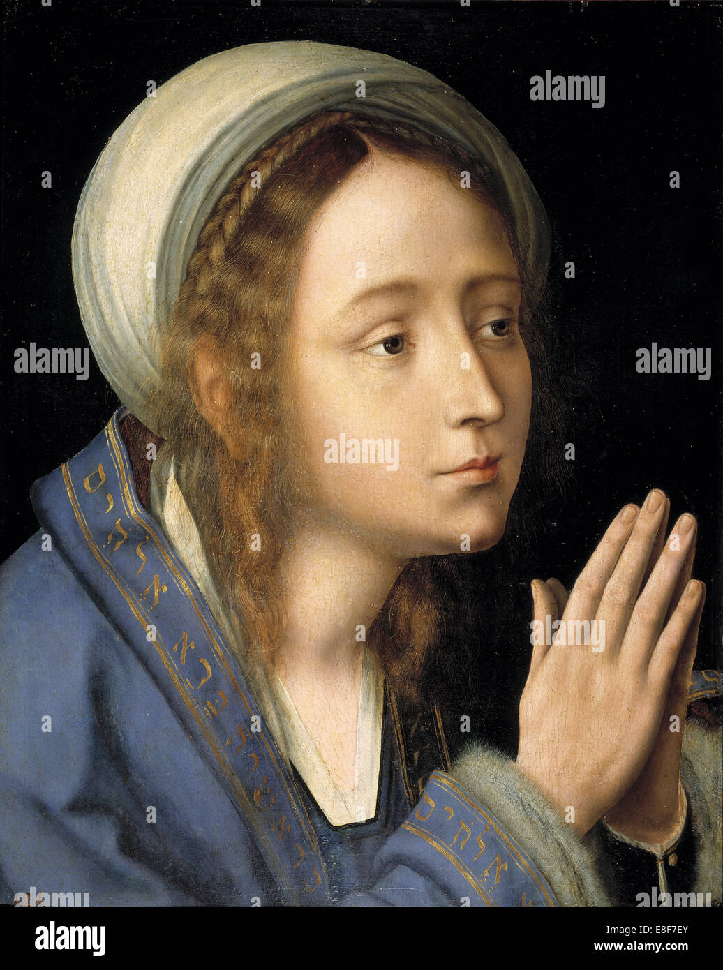 The Virgin Mary. Artist: Massys, Quentin (1466?1530) - Stock Image
