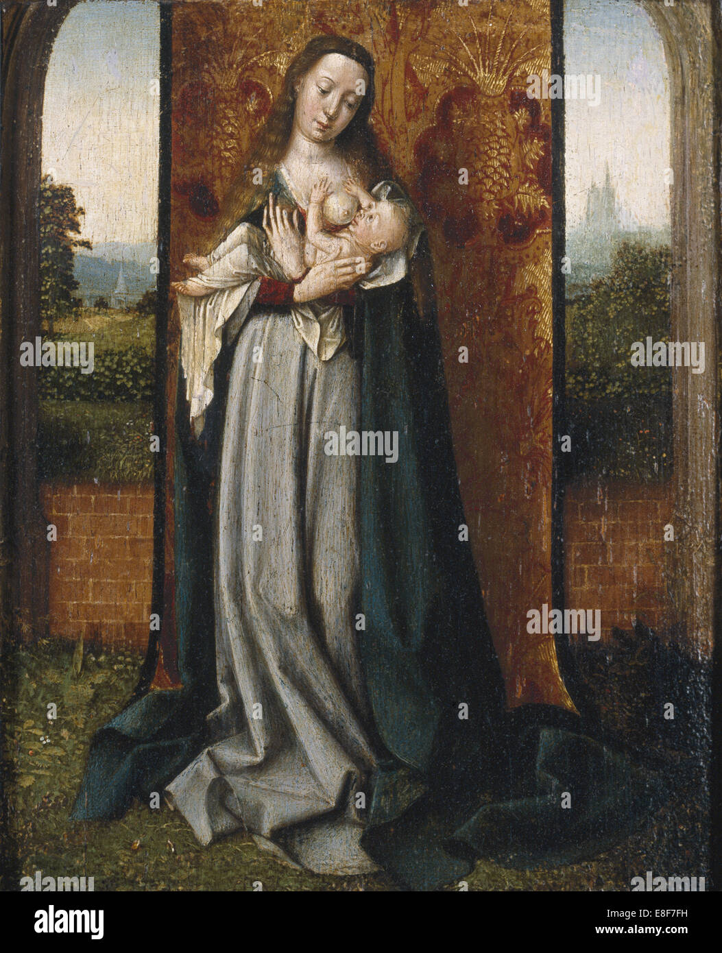 Virgin and child. Artist: Provost (Provoost), Jan (1465-1529) - Stock Image