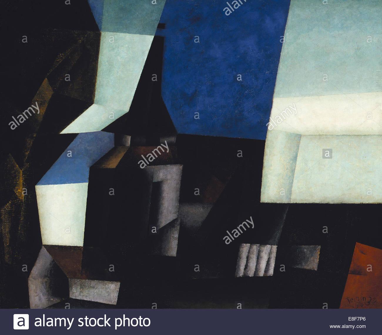 Zirchow V. Artist: Feininger, Lyonel (1871-1956) - Stock Image