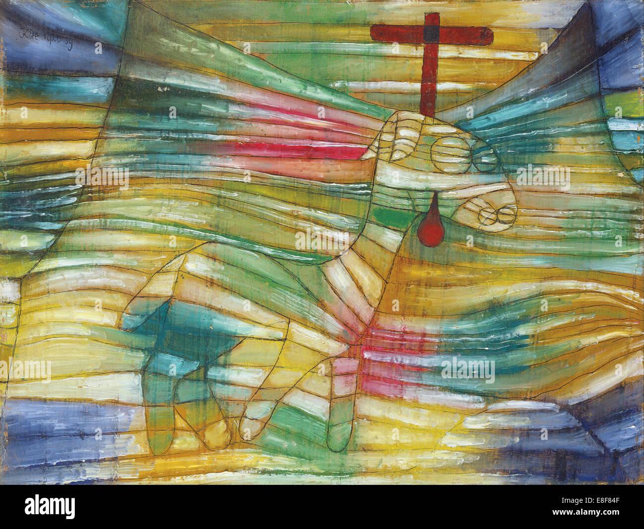 The Lamb. Artist: Klee, Paul (1879-1940) - Stock Image
