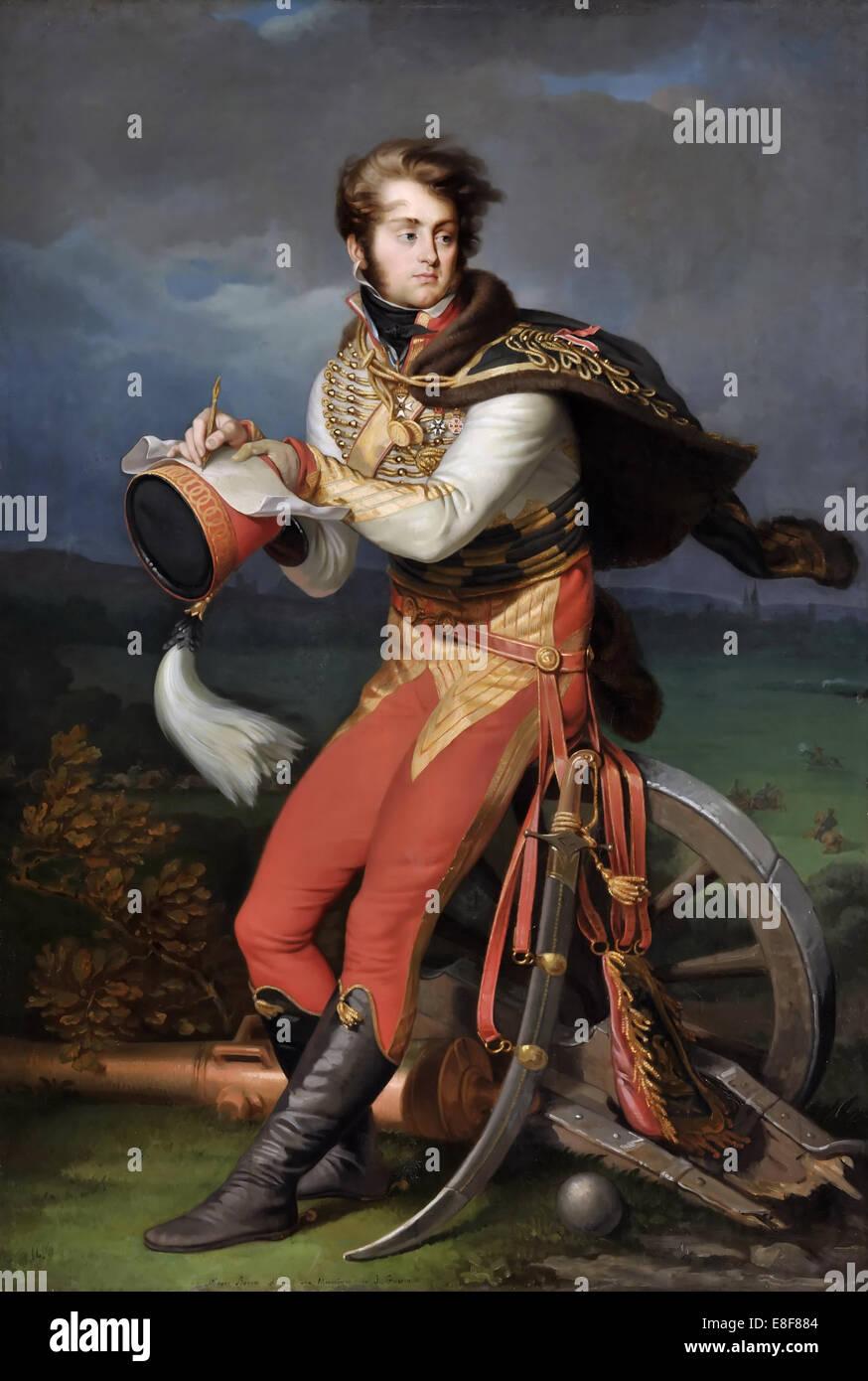 Baron Louis-François Lejeune (1775-1848). Artist: Guérin, Jean Urbain (1760-1836) - Stock Image