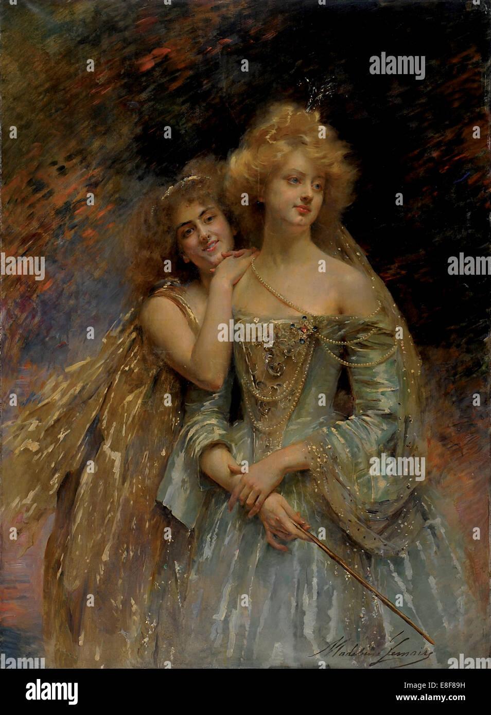 The fairies. Artist: Lemaire, Madeleine Jeanne (1845-1928) - Stock Image