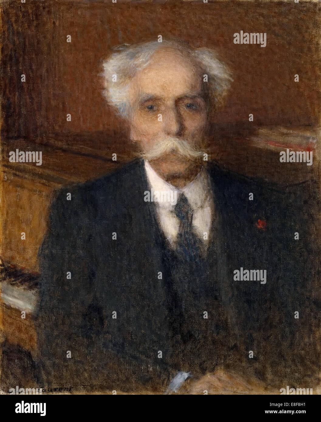 Portrait of Gabriel Fauré (1845-1924). Artist: Laurent, Ernest (1859-1929) - Stock Image