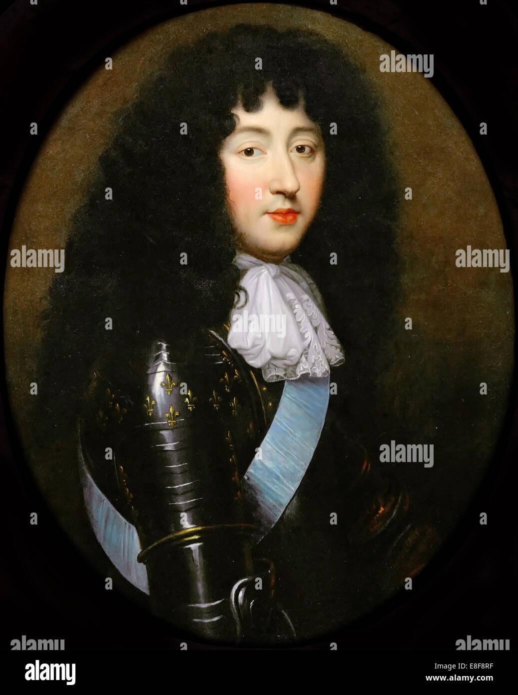 Philippe I, Duke of Orléans (1640-1701). Artist: Mignard, Pierre (1612-1695) - Stock Image