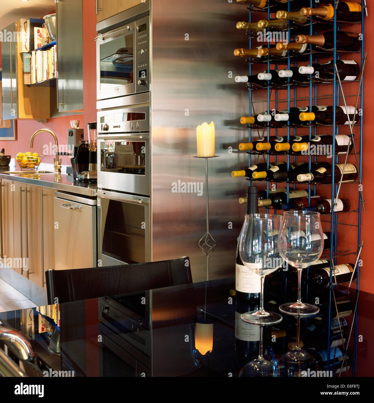 Wine Rack And Wall Stock Photos Amp Wine Rack And Wall Stock