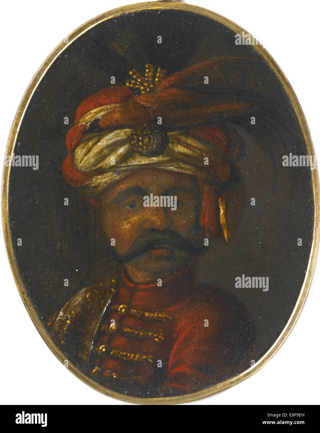 Suleiman II (1642-1691), Sultan of the Ottoman Empire. Artist: Anonymous - Stock Image