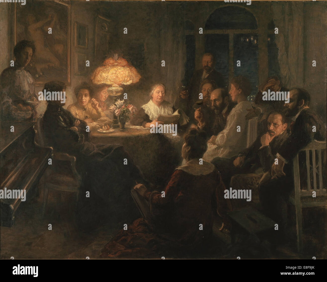Friends. Artist: Pauli (Hirsch-Pauli), Hanna (1864-1940) - Stock Image