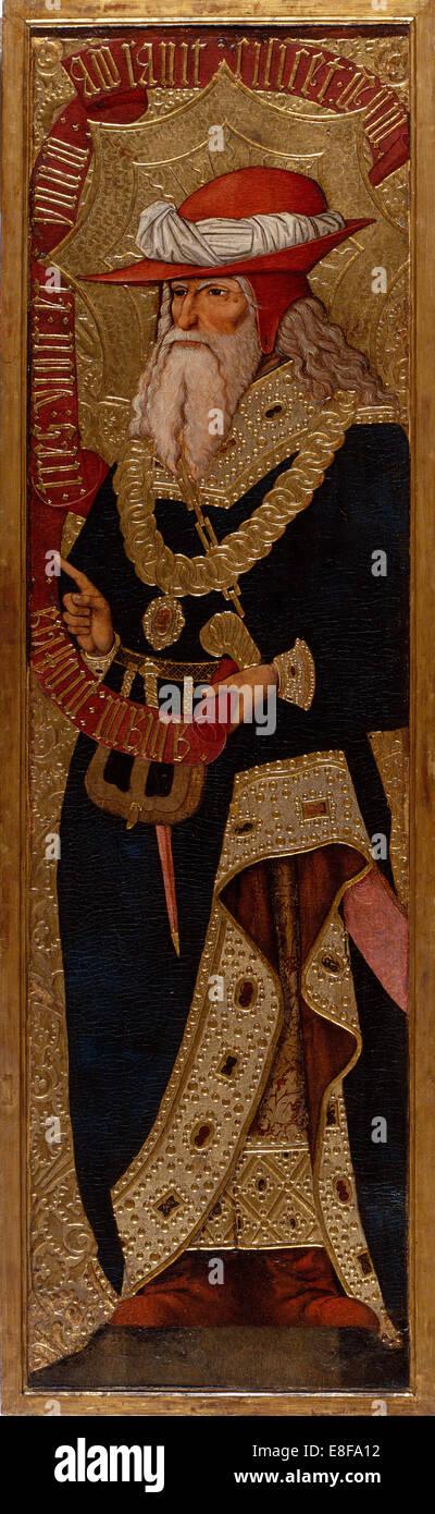 Abraham. Artist: Gascó, Joan (active 1500-1529) - Stock Image