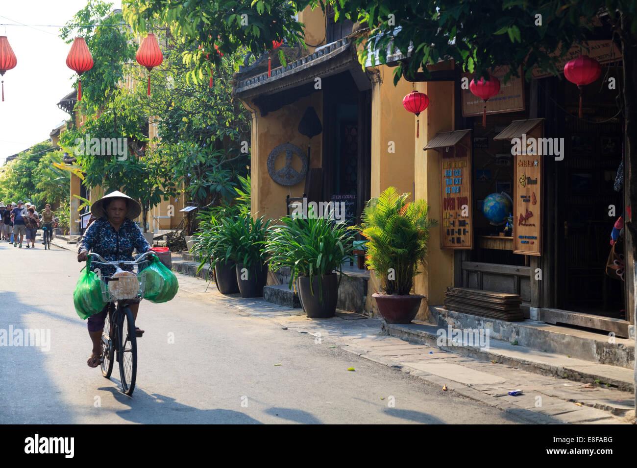 Vietnam, Quang Nam, Hoi An old town (UNESCO Site) - Stock Image